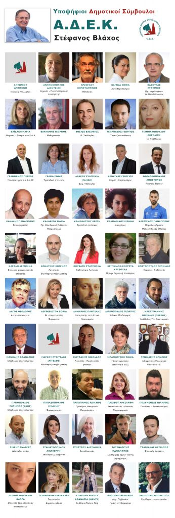 Υποψήφιοι ΑΔΕΚ 2019